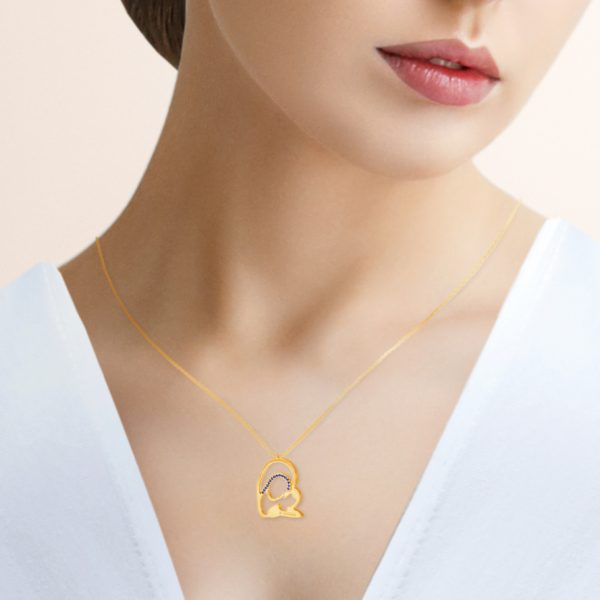 modelo medalla virgen camino neocatecumenal elkerigma oro zafiros