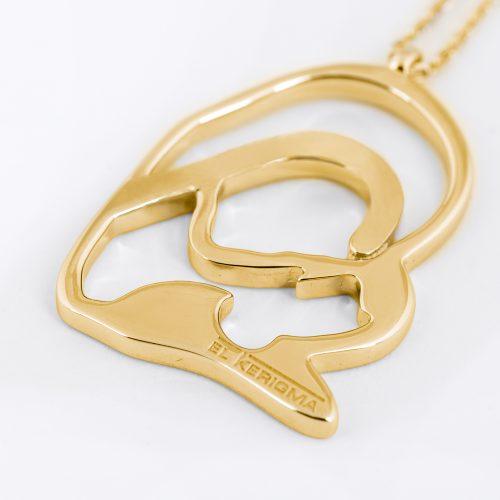 medalla virgen camino neocatecumenal elkerigma oro creativa